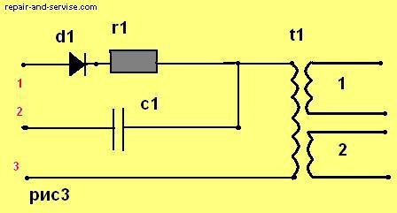 принципиальная схема телевизора горизонт 54 ctv-732-20m модель 2120