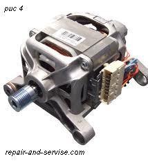 Двигатель приводной мотор стиральных машин.