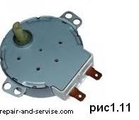 Двигатель вращения тарелки микроволновых печей (микроволновок)