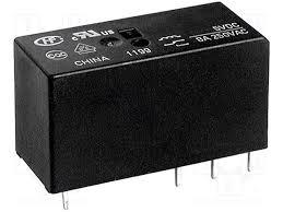 Реле HF115F/012-1HS3 12V 16A духовых шкафов, электродуховок