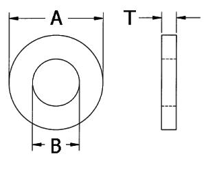 Нейлоновые шайбы М6 М5