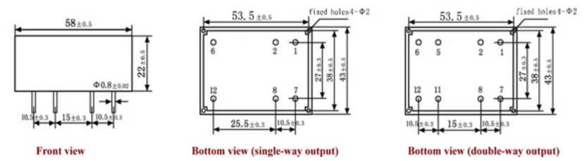 Замена Трансформатора 2x115V 2x12V 8VA 50-60hz.