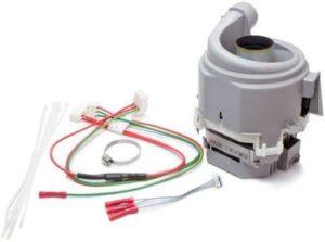 Восстановление насоса помпы двигателя посудомоечной машины